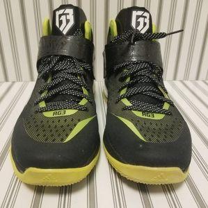 RG3 Adidas ENERGY BOOST – BLACK & GREEN SIZE 11